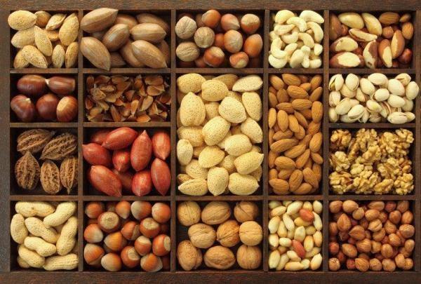 Разновидность орехов