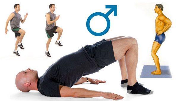 Упражнения для повышения потен