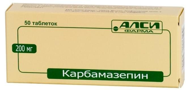 Препарат карбамазепин
