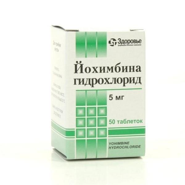Йохимбин препарат