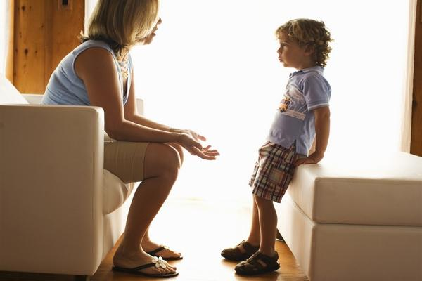 Разговор мамы с сыном
