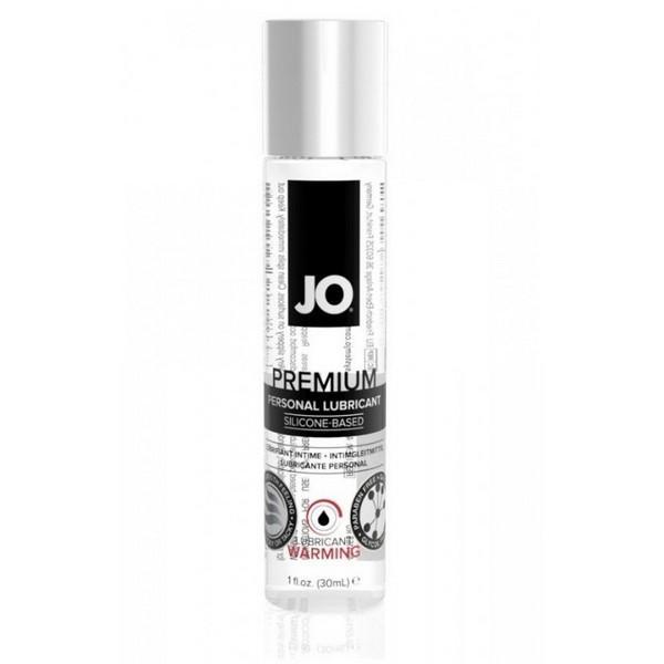 Возбуждающий лубрикант на силиконовой основе Jo Premium Lubricant Warming