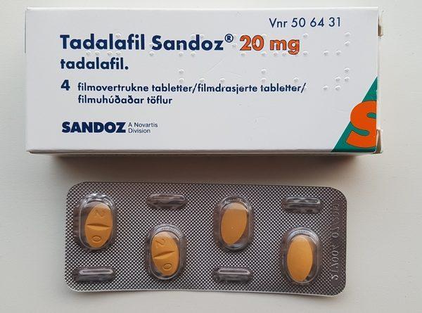 Тадалафил упаковка