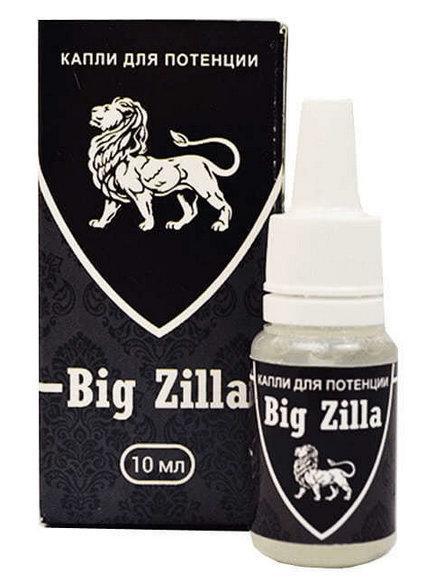 """Капли для потенции """"Big Zilla"""""""