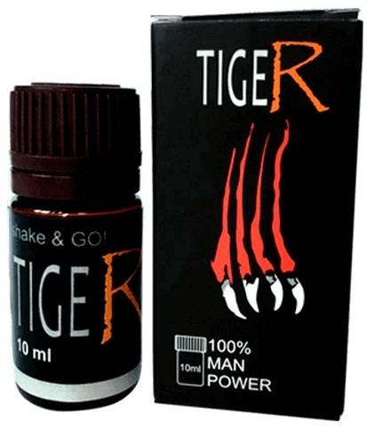 """Возбуждающие капли для потенции """"Tiger"""""""