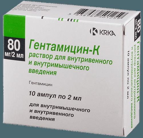 """Препарат """"Гентамицин-К"""""""