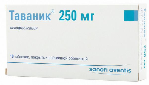 Антибактериальный препарат «Таваник»