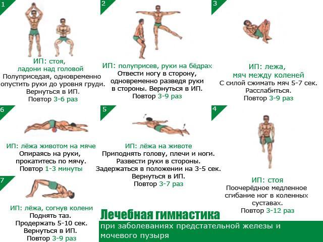 Упражнения для улучшения кровотока в районе малого таза
