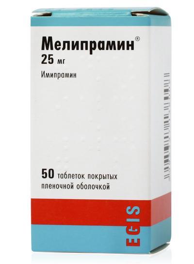 Препарат «Мелипрамин»