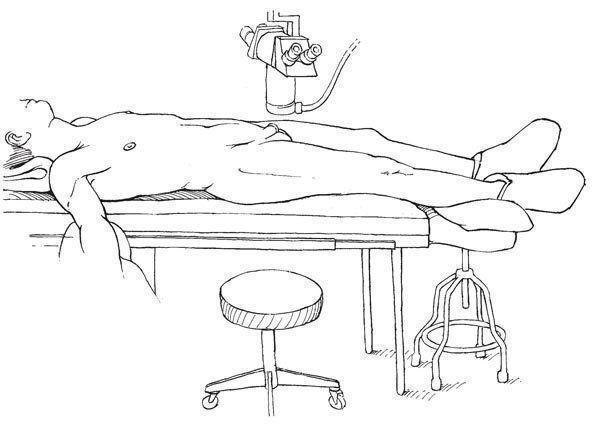 Положение пациента во время операции