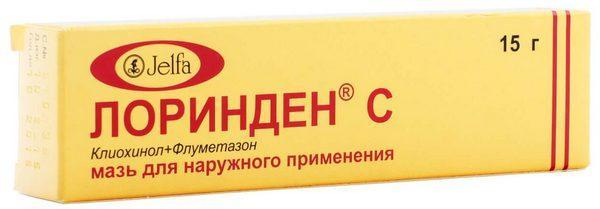 """Мазь """"Лоринден С"""""""