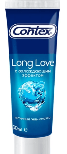 Contex Long Love − гель с ментолом и глицерином