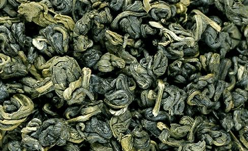 Сухой лист зеленого чая
