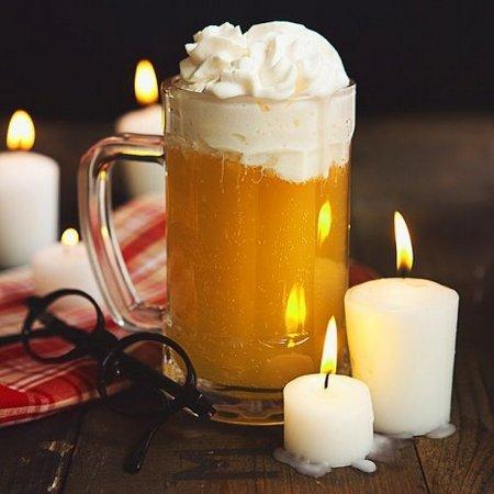 Пиво со сметаной