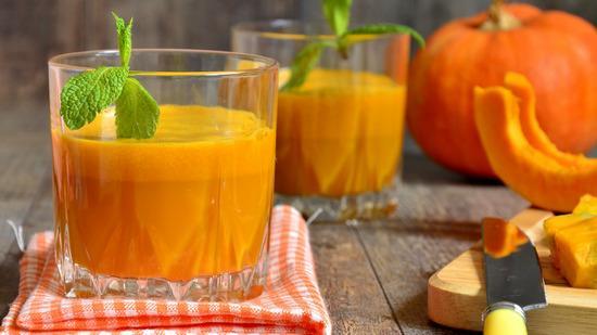 Сок из тыквы, апельсина и яблока