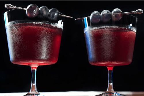 Виноградный сок с коньяком