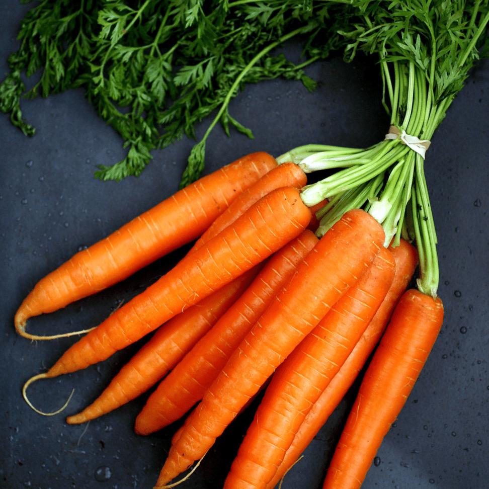 Хорошая свежая морковка