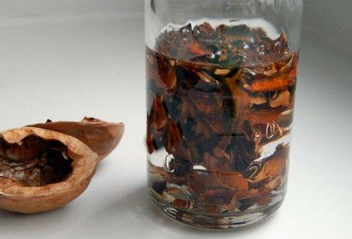 Настойка на перегородках грецкого ореха